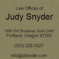 Law Offices of Judy Snyder