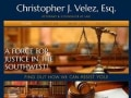 Christopher J. Velez, Attorney & Counselor at Law