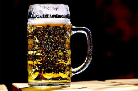 Beer mug, alcohol