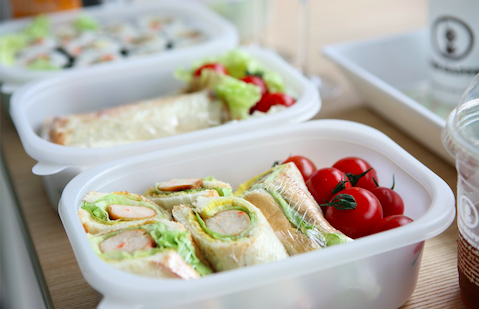 sandwiches for sharing in a picnic