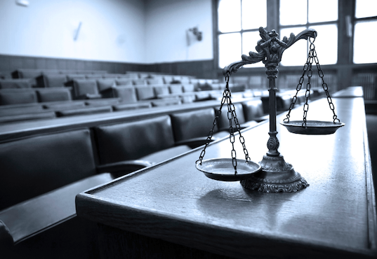 court justice scales jury