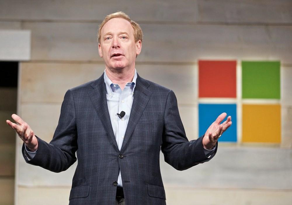 Brad Smith, President of Microsoft, Speaking at Microsoft Shareholders Meeting