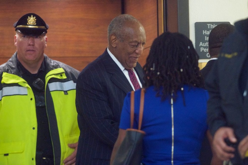 NORRISTOWN, PA - SEPTEMBER 25:  Bill Cosby arrives at the Montgomery County Courthouse on the second day of sentencing in his sexual assault trial on September 25, 2018 in Norristown, Pennsylvania.  In April, Cosby was found guilty on three counts of aggravated indecent assault for drugging and sexually assaulting Andrea Constand at his suburban Philadelphia home in 2004 and faces a maximum of 10 years in prison.  60 women have accused the 81 year old entertainer of sexual assault.  (Photo by Mark Makela/Getty Images)