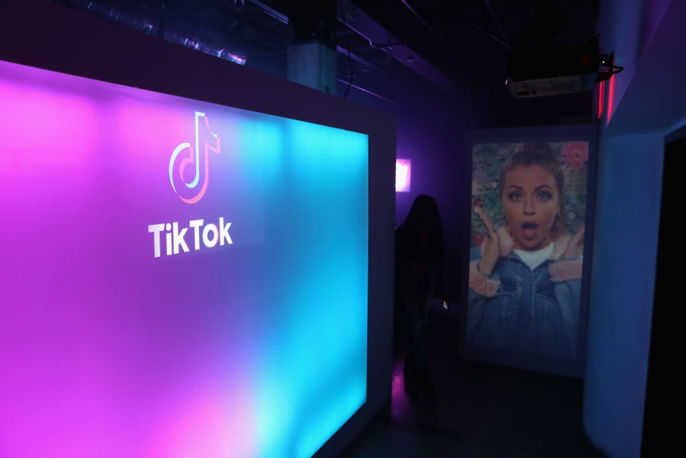 LOS ANGELES, CA - AUGUST 01:  A general view of the atmosphere during the TikTok US launch celebration at NeueHouse Hollywood on August 1, 2018 in Los Angeles, California.  (Photo by Joe Scarnici/Getty Images)
