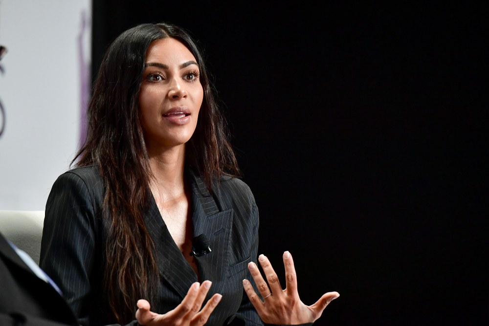 NEW YORK, NY - JUNE 13:  Kim Kardashian speaks onstage during the 2017 Forbes Women's Summit at Spring Studios on June 13, 2017 in New York City.  (Photo by Dia Dipasupil/Getty Images)