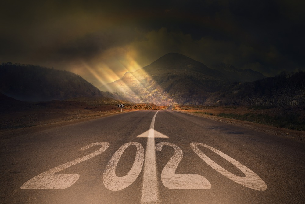 The road to 2020 concept