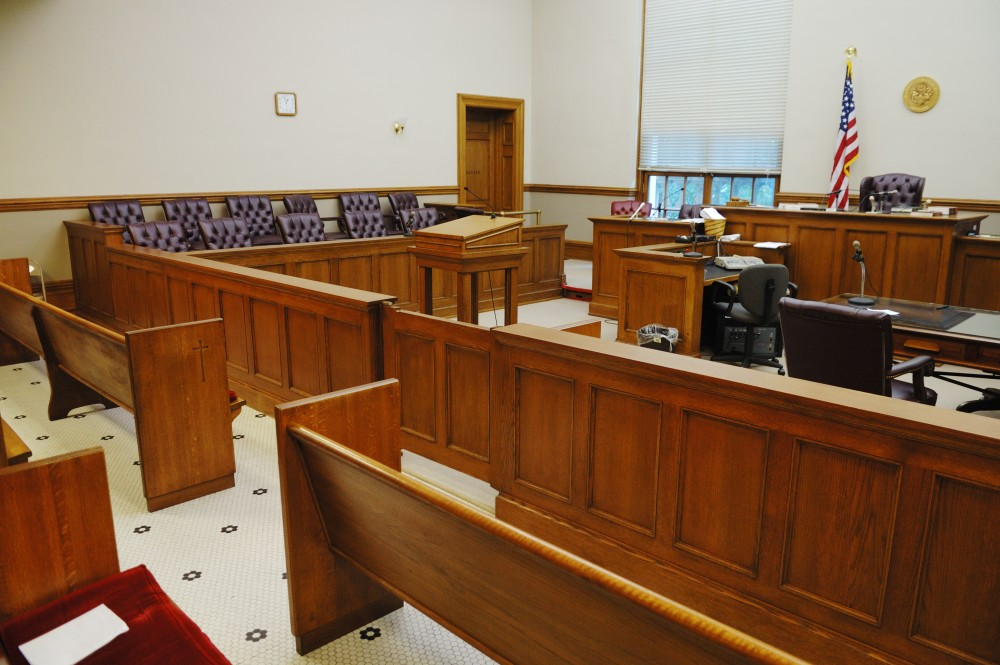 Empty Courthouse