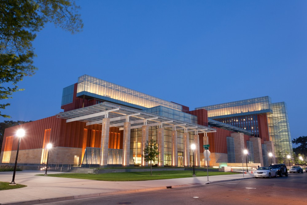 Business school at the University of Michigan in Ann Arbor - stock photo