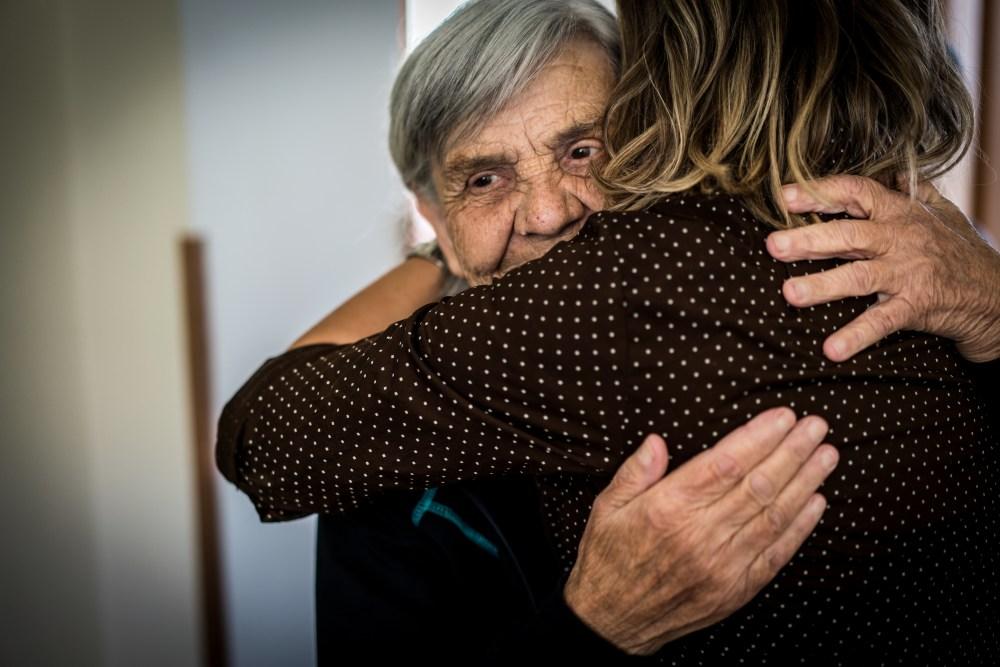 Nursing senior people