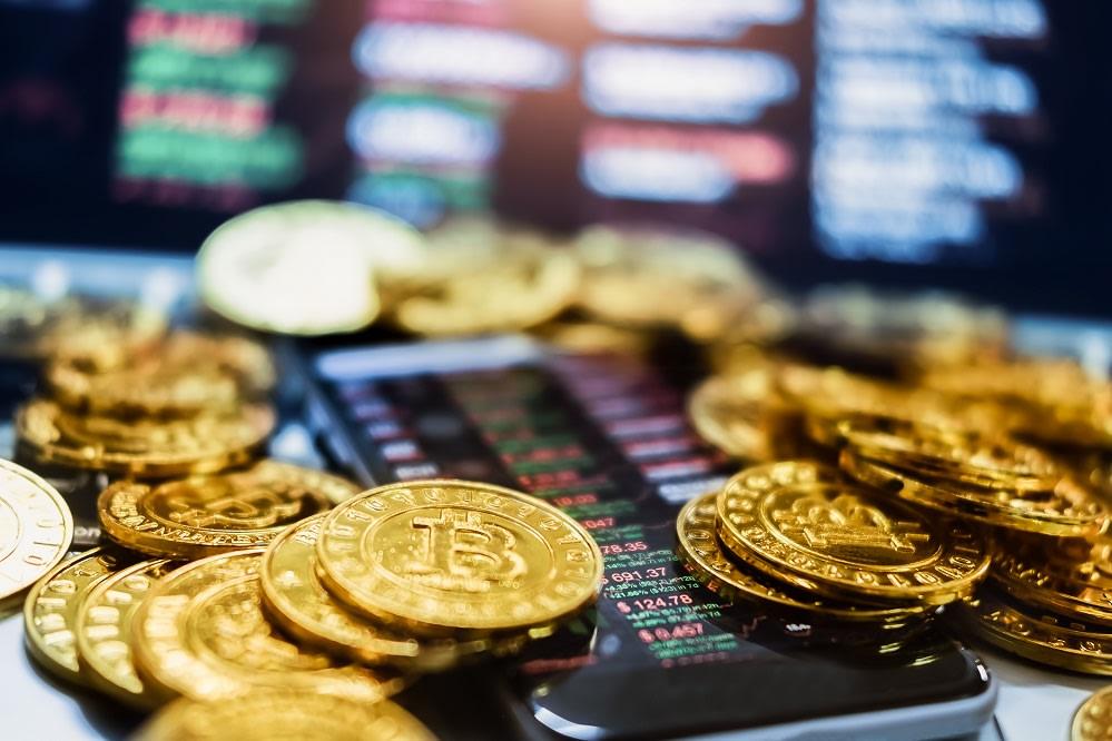 Bitcoin, Phone, Screen